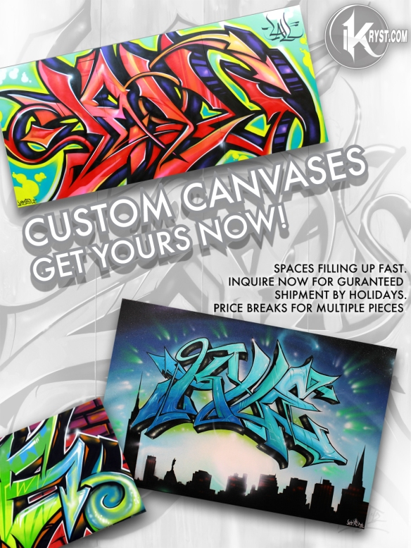 kryst kyle graffiti custom